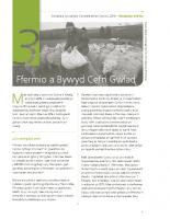 Nodiadau Briffio 3 – Ffermio a Bywyd Cefn Gwlad