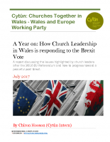 9. One Year On – How Church leadership in Wales is responding to the Brexit vote